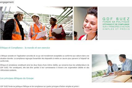 (c) Screenshot: http://www.gdfsuez.com/groupe/ethique-et-compliance/