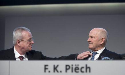 Winterkorn/ Piech / Bild: (c) imago/IPON (imago stock&people)