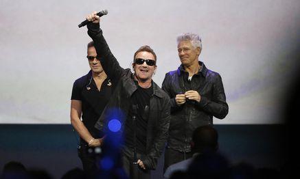U2  / Bild: (c) REUTERS (STEPHEN LAM)