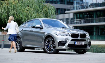 Massig, beeindruckend und für BMW- Experten sofort als M zu erkennen: der überarbeitete X6M. / Bild: (c) Die Presse (Clemens Fabry)