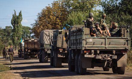 ukrainische soldaten / Bild: APA/EPA/ROMAN PILIPEY