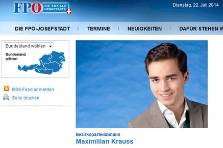Bild: (c) Screenshot http://josefstadt.fpoe-wien.at