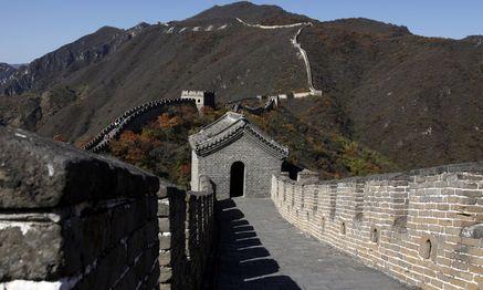 Auch die größte Grenzbefestigung der Menschheit wurde irgendwann einmal überrannt: Die Chinesische Mauer / Bild: (c) REUTERS (David Gray)