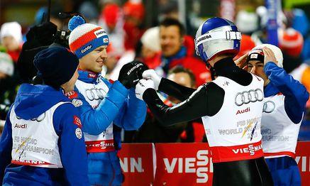 ÖSV-Team / Bild: REUTERS