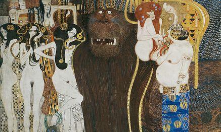 Beethovenfries von Gustav Klimt. / Bild: (c) Secession