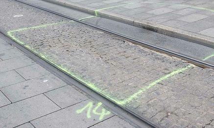 Einer der Tatorte in Graz / Bild: APA/ELMAR GUBISCH