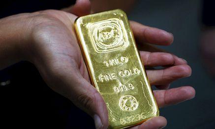 Der Goldpreis stieg am Donnerstag um mehr als fünf Prozent. / Bild: (c) REUTERS (DANIEL MUNOZ)