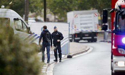 Das Kriminologische Insitut wurde stark zerstört. / Bild: APA/AFP/Belga/THIERRY ROGE