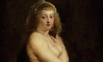 """Das berühmteste barocke Pin-up: Helena Fourment, Rubens' zweite Frau, von ihm gemalt: Ihr gilt bis 29. 11. im Kunsthistorischen Museum eine kleine Spezialausstellung (""""Ansichtssache""""). / Bild: (c) KHM"""