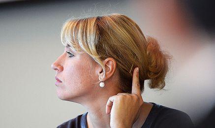 Und aus: Katrin Nachbaur verlässt das Team Stronach / Bild: APA/BARBARA GINDL