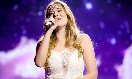 Zoe setzte sich in der ORF-Show ''Wer singt für Österreich?'' durch / Bild: (c) ORF (Milenko Badzic)