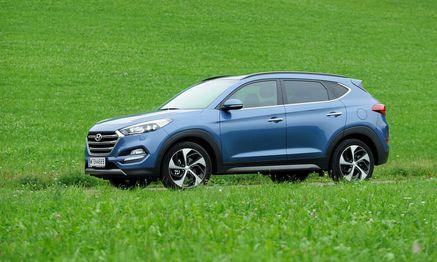 Mit dem Tucson gibt sich Hyundai sehr selbstbewusst. / Bild: (c) Die Presse (Clemens Fabry)