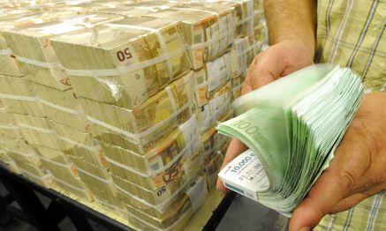 Archivbild: Euro-Banknoten in der österreichischen Nationalbank. / Bild: (c) APA/HERBERT PFARRHOFER (HERBERT PFARRHOFER)