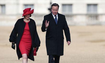 Theresa May mit David Cameron, 2015  / Bild: Reuters