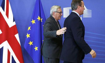 Kommissionpräsident Jean-Claude Juncker mit dem Noch-Premierminister des Vereinigten Königreichs, David Cameron. / Bild: (c) REUTERS