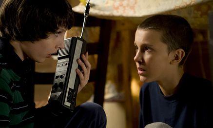 Mike (Finn Wolfhard) und Eleven (Millie Bobby Brown) in ''Stranger Things'' / Bild: (c) Curtis Baker/Netflix