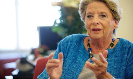 """Ursula Stenzel sieht sich als """"politisches Animal"""". / Bild: (c) Die Presse/Clemens Fabry"""