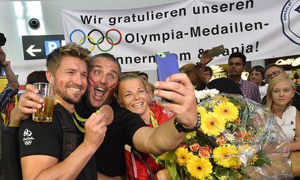 Thomas Zajac und Tanja Frank / Bild: APA/HERBERT PFARRHOFER