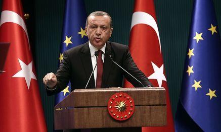 Der türkische Präsident Recep Tayyip Erdogan / Bild: APA/AFP/ADEM ALTAN