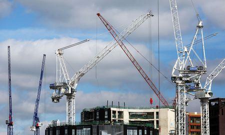Großbritanniens Immobilienmarkt zieht nach wie vor Investoren an. Im Bild: Bautätigkeit in London (Symbolfoto). / Bild: Bloomberg (Chris Ratcliffe)