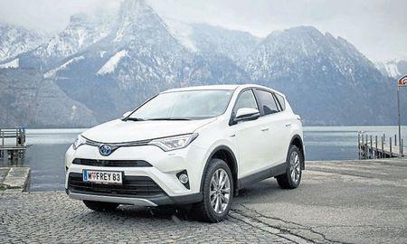 Toyota Rav4 Hybrid Einmal Benzin Einmal Elektro Zahlen