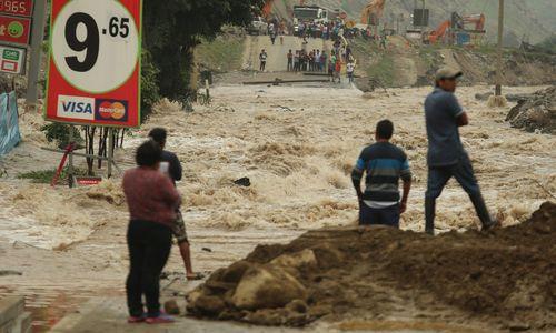 Kein Ende des Unwetter-Dramas in Peru absehbar