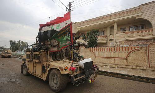 Irakische Armee meldete vornschnell Erfolg in Mossul