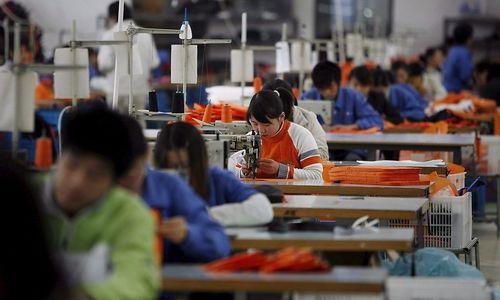 Chinas Industrieproduktion weiter zurückgegangen