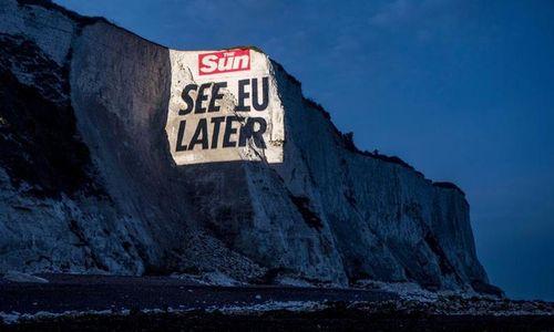 """""""See EU later"""": Boulevardzeitung """"Sun"""" feiert den Brexit"""