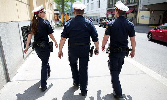 Symbolbild Polizeistreife