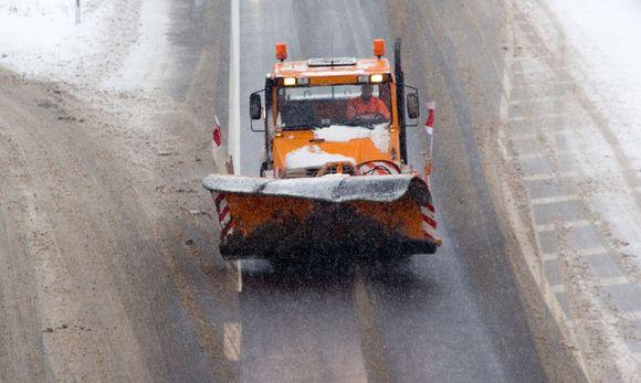 Schneeräumfahrzeug