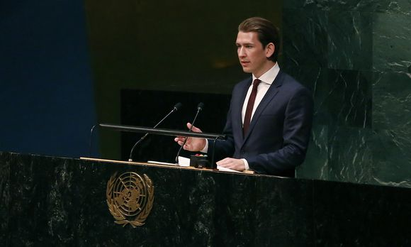 AM KURZ BEI UNO-KONFERENZ IN NEW YORK