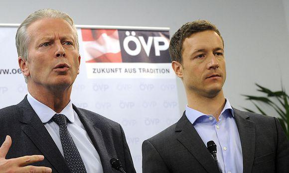 ÖVP: Blümel kritisiert Mitterlehner