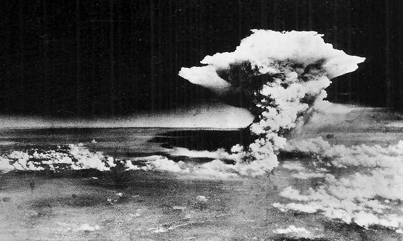 Archivaufnahme des Atompilzes
