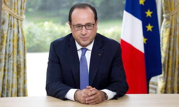 Präsident Francois Hollande