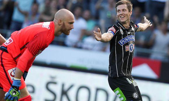 04. Runde: Sturm Graz - Austria 3:1 (1:0), Saison 16/17