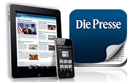 Presse App fuer iPad iPhone