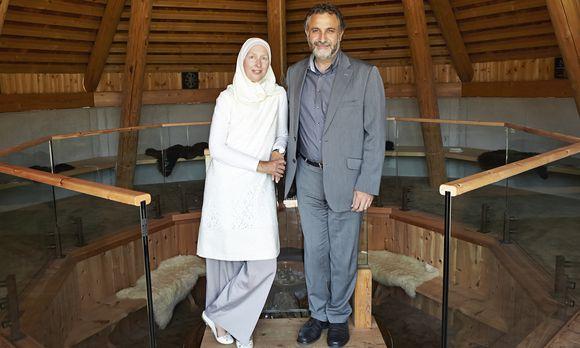 Carla Amina und Tarafa Baghajati
