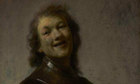 """""""Lachender Rembrandt"""". So sah er sich selbst – aber wie konnte er sich so sehen?"""
