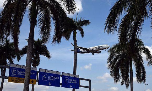 Archivbild: Der Flughafen von Panama-City
