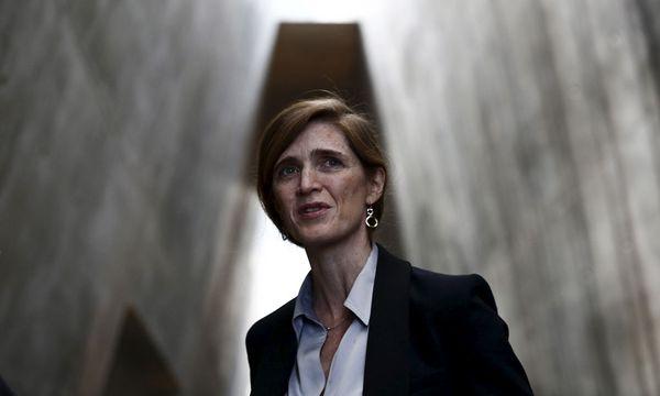 US-Botschafterin Samantha Power wirft Russland Scheinheiligkeit und Effekthascherei vor. / Bild: Reuters