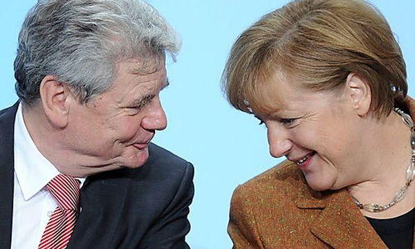 Gauck, Merkel / Bild: (c) EPA (Britta Pedersen)