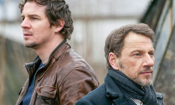Felix Klare als Sebastian Bootz, Richy Müller als Thorsten Lannert / Bild: ORF