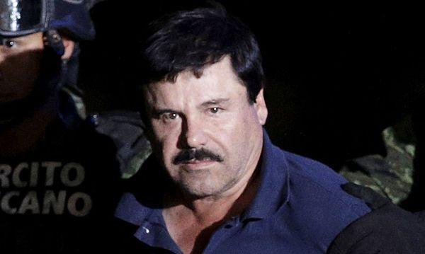 Archivbild: ''El Chapo'' nach seiner Verhaftung im Jänner / Bild: REUTERS