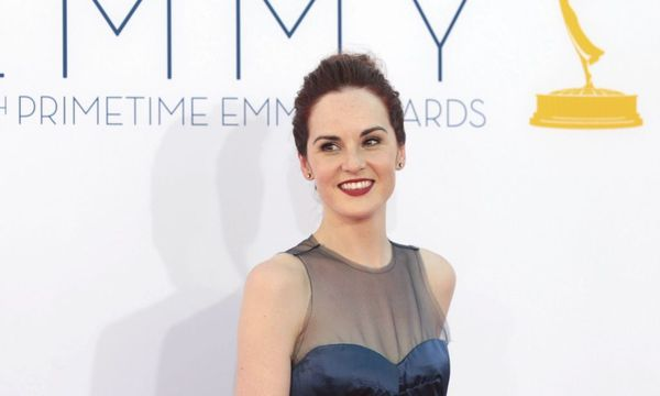 British actress Michelle Dockery of the drama series 'Downtown Abbey' arrives at the 64th Primetime Emmy Awards in Los Angeles / Bild: REUTERS
