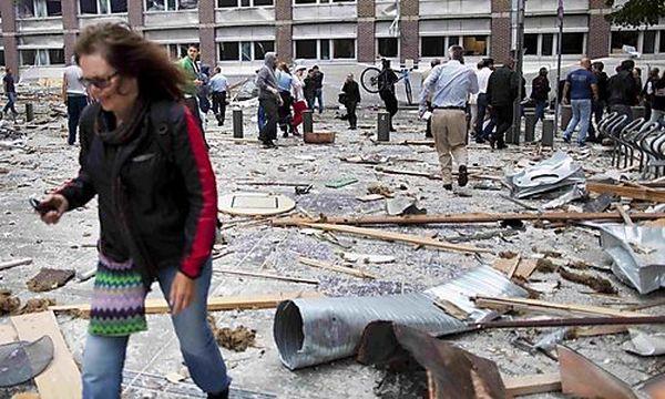 Anschlag in Oslo / Bild: (c) REUTERS (Scanpix Norway)