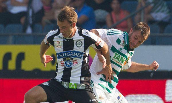 Tobias Kainz gegen Steffen Hofmann / Bild: APA-FOTO: ERWIN SCHERIAU