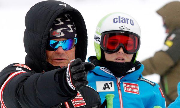Herbert Mandl und Anna Fenninger / Bild: (c) GEPA pictures (GEPA pictures Mario Kneisl)
