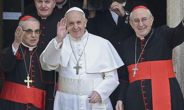 Ein Wink vom Seiteneingang: Papst Franziskus meidet am ersten Tag den Medienrummel bei seinem Ausflug in die Basilika Santa Maria Maggiore. / Bild: (c) REUTERS (ALESSANDRO BIANCHI)