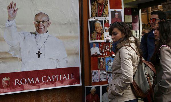 argentinischen Spuren Papstes / Bild: (c) REUTERS (CHRIS HELGREN)